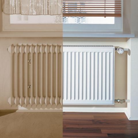 kermi k22 554x1400 grzejnik p ytowy modernizacyjny. Black Bedroom Furniture Sets. Home Design Ideas