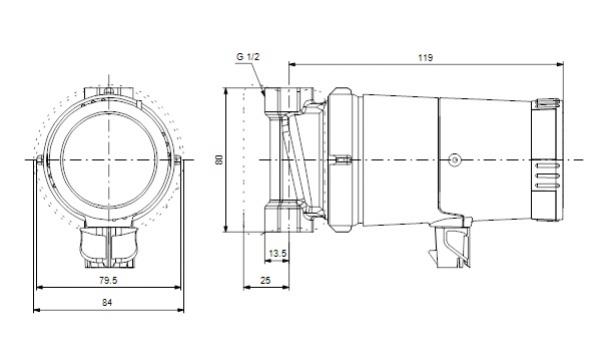 grundfos up 15 14 b pompa cyrkulacyjna c w u. Black Bedroom Furniture Sets. Home Design Ideas