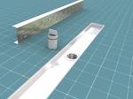 Wiper Premium SIROCCO 800 mm - Odpływ liniowy z kołnierzem