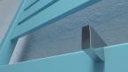Terma MANTIS ONE 860x440 (biały) - Grzejnik z wbudowaną grzałką