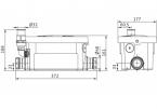Wilo HiDrainlift 3-24  - Pompa do przetłaczania ścieków
