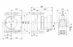 Grundfos MAGNA1 32-100 F 220 230V PN6/10 - Pompa obiegowa c.o.