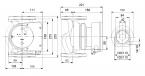 Grundfos MAGNA1 40-60 F 220 230V PN6/10 - Pompa obiegowa c.o.