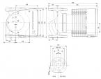 Grundfos MAGNA1 40-180 F 250 230V PN6/10 - Pompa obiegowa c.o.