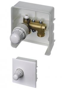 ER-RTL KOMBIBOX - Zawór termostatyczny kątowy