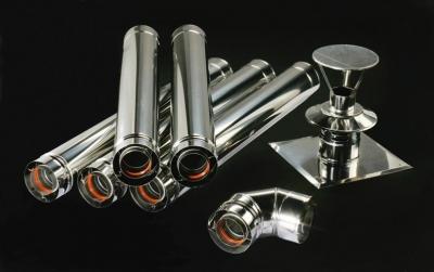 Pakiet kominowy DN 80/125  do kotłów kondensacyjnych i turbo