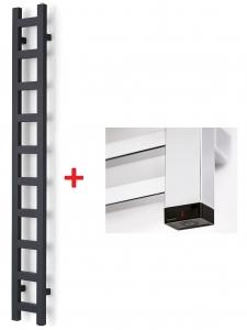 Terma EASY ONE 960x200 (biały) - Grzejnik z wbudowaną grzałką