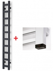 Terma EASY ONE 1280x200 (biały) - Grzejnik z wbudowaną grzałką