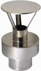 Końcówka wylotowa pionowa DN 80/125 powietrzno-spalinowa do kotłów kondensacyjnych i turbo