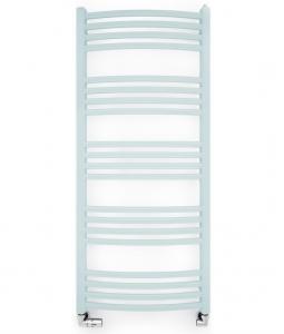 Terma LENA 900x586 (biały) - Grzejnik łazienkowy, podłączenie SX