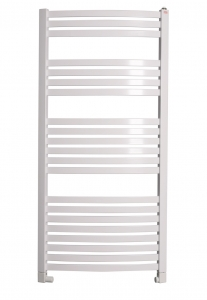 Terma DEXTER 860x400 (biały) - Grzejnik łazienkowy, podłączenie SX